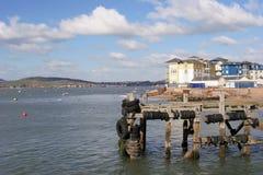 Jachthafen bei Exmouth Stockfoto