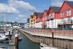 Jachthafen bei Exmouth stockfotografie