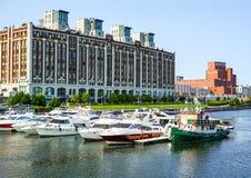 Jachthafen des alten Hafens Lizenzfreies Stockfoto