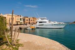 Jachthafen. EL Gouna, Ägypten Stockfoto