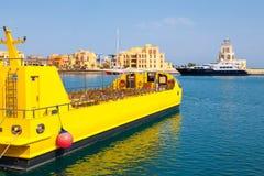 Jachthafen. EL Gouna, Ägypten Lizenzfreie Stockbilder