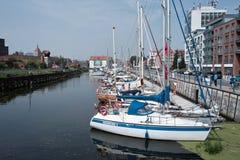 Jachthafen in Gdansk Lizenzfreies Stockbild