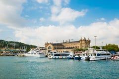 Jachthafen im Hafen Vell am 21. September 2012, in Barcelona. Mehr t Stockfotos
