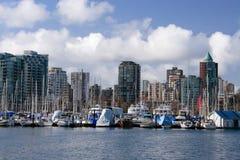 Jachthafen im Stanley-Park. lizenzfreies stockbild