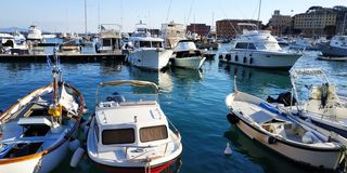 Jachthafen in Italien, Ligurien lizenzfreie stockfotografie