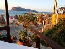 Jachthafen Kretas Aghia Stockfotografie