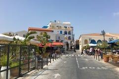 Jachthafen in Limassol Stockfotografie