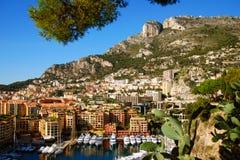 Jachthafen in Monte Carlo lizenzfreies stockfoto