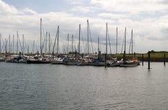 Jachthafen Norderney Stockfotos