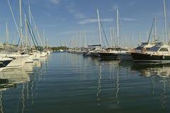 Jachthafen Puerto Alcudia Stockbilder