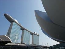Jachthafen-Schacht-Sande, Singapur Lizenzfreie Stockfotos