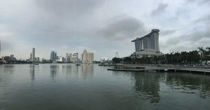 Jachthafen-Schacht, Singapur Stockfotos