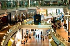 Jachthafen-Schacht versandet Einkaufszentrum Stockbilder