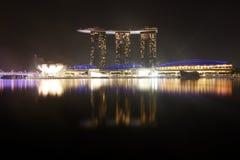 Jachthafen-Schacht versandet Singapur Lizenzfreies Stockfoto