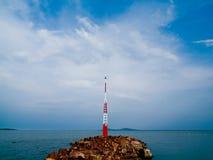 Jachthafen, Szigliget lizenzfreie stockfotos