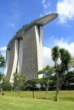 Jachthafenbucht versandet Hotel Lizenzfreie Stockfotografie
