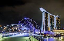 Jachthafenbuchtsande, Singapur Lizenzfreie Stockbilder