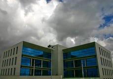 Jachthafengebäude Stockfotografie