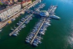 JachthafenPula Stockfotos