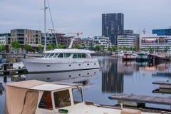 Jachthaven stock foto's