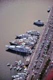 Jachthaven in baai van Kotor Royalty-vrije Stock Afbeeldingen
