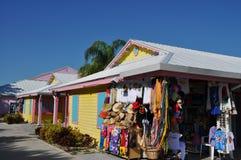 Jachthaven in de Bahamas Stock Afbeelding