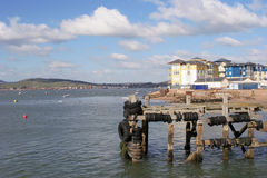 Jachthaven in Exmouth stock foto
