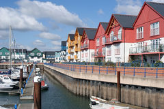 Jachthaven in Exmouth Stock Fotografie