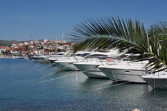 Jachthaven Frapa Royalty-vrije Stock Afbeelding