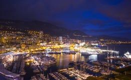 Jachthaven in Monaco Royalty-vrije Stock Afbeelding
