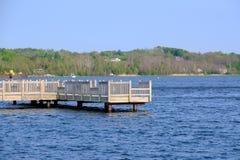 Jachthaven op Betsie-Meer Royalty-vrije Stock Afbeeldingen