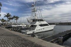 Jachthaven in Puerto Calero royalty-vrije stock fotografie