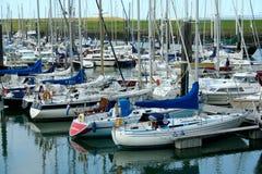 Jachthaven van Colijnsplaat stock fotografie