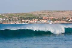 Jachthaven van Costa Meloneras Stock Foto