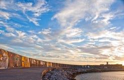 Jachthaven van Oeiras Stock Afbeeldingen