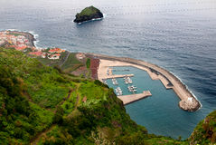 Jachthavens Puerto DE Garachico Royalty-vrije Stock Fotografie