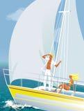 jachting Obraz Royalty Free