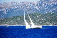 Jachting i morze Zdjęcie Stock