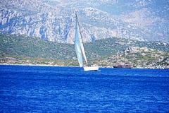 Jachting i morze Zdjęcia Stock