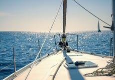 Jachting na żagla boa Obrazy Royalty Free