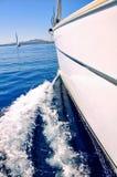 Jachting na żagla boa Fotografia Royalty Free