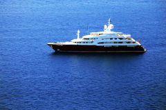 Jachting na morzu śródziemnomorskim Fotografia Royalty Free