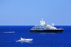 Jachting na morzu śródziemnomorskim Obraz Royalty Free