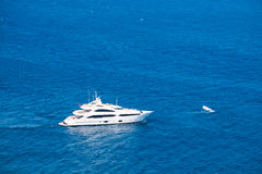 Jachting na morzu śródziemnomorskim Zdjęcie Royalty Free