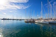 Jachting w Grecja Fotografia Stock