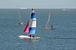 Jachtingu i wysyłki pas ruchu Zdjęcia Royalty Free