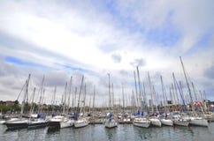 Jachtmarine royalty-vrije stock afbeelding