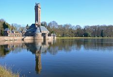 Jachtslot Sint Hubertus lokalizować przy De Hoge Veluwe Obraz Royalty Free