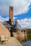 Jachtsloten Sint Hubertus Castle i Holland Fotografering för Bildbyråer