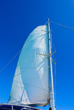 Jachtu żagla maszt Zdjęcia Royalty Free